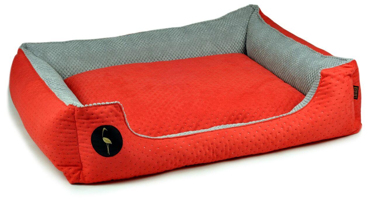 a9fd2e71192b33 Lauren Design Legowisko Cezar rozmiar 70 cm x 60 cm kolor czerwony pikowany;  legowisko kanapa dla psa i kota lauren design (6)0 ...