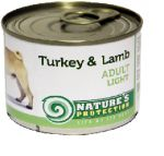 Nature\'s Protection Adult Light indyk i jagnięcina 200g
