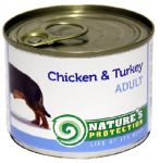 Nature\'s Protection Adult kurczak i indyk 200g