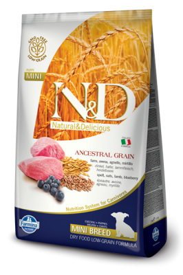 N&D Low Grain Lamb & Blueberry mini PUPPY 7kg