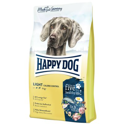 Happy Dog Supreme Fit&Vital Light Calorie Control, 12 kg (Happy Dog Fit & Well Light 1 Low Crab)