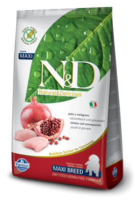N&D Grain Free Chicken & Pomegranate maxi PUPPY 12kg
