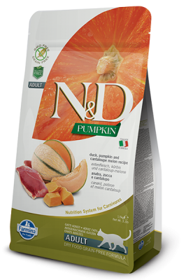 N&D Cat PUMPKIN Duck & Cantaloupe Melon 1,5kg