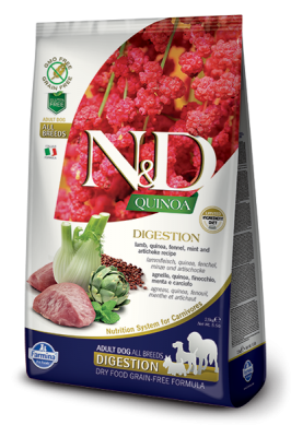 N&D Dog QUINOA DIGESTION Lamb & Fennel 2,5kg