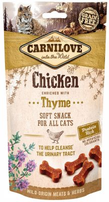 Carnilove Cat Snacks Soft Chicken & Thyme 50g