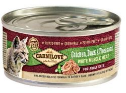 Carnilove Cat Chicken, Duck & Pheasant 100g puszka