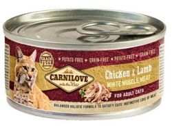 Carnilove Cat Chicken & Lamb 100g puszka