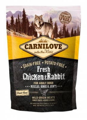 Carnilove Dog Adult Fresh Chicken & Rabbit 1,5kg