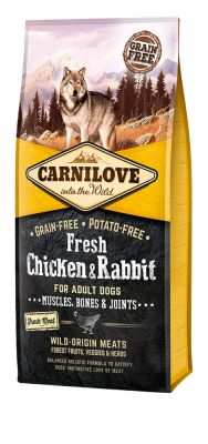 Carnilove Dog Adult Fresh Chicken & Rabbit 12kg
