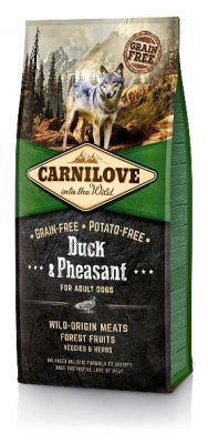 Carnilove Duck & Pheasant For Adult 12KG (kaczka)