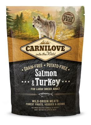 Carnilove Salmon & Turkey For Large Breed Adult 1,5KG (łosoś&indyk)