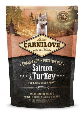Carnilove Salmon & Turkey For Large Breed Puppy 1,5KG (łosoś&indyk)