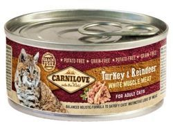 Carnilove Cat Turkey & Reindeer 100g