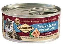 Carnilove Cat Turkey & Salmon 100g puszka