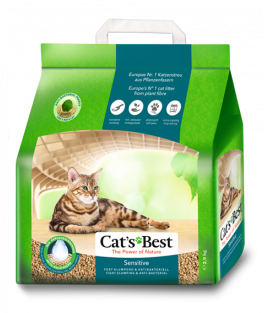 JRS Cat's Best Sensitive (Green Power) 8L