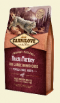 Carnilove Cat Adult Large Breed z kaczką i indykiem 400g