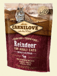 Carnilove Cat Adult Energy & Outdoor z reniferem 400g