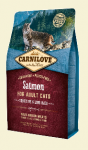 Carnilove Cat Adult Sensitive & Long Hair z łososiem 400g